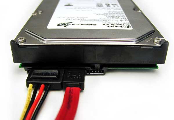 Винчестеры с интерфейсом Serial ATA.
